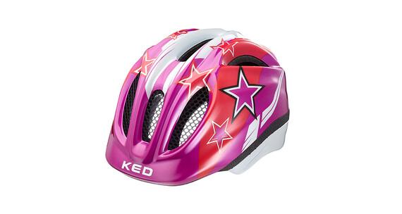KED Meggy Stars Helmet violet stars